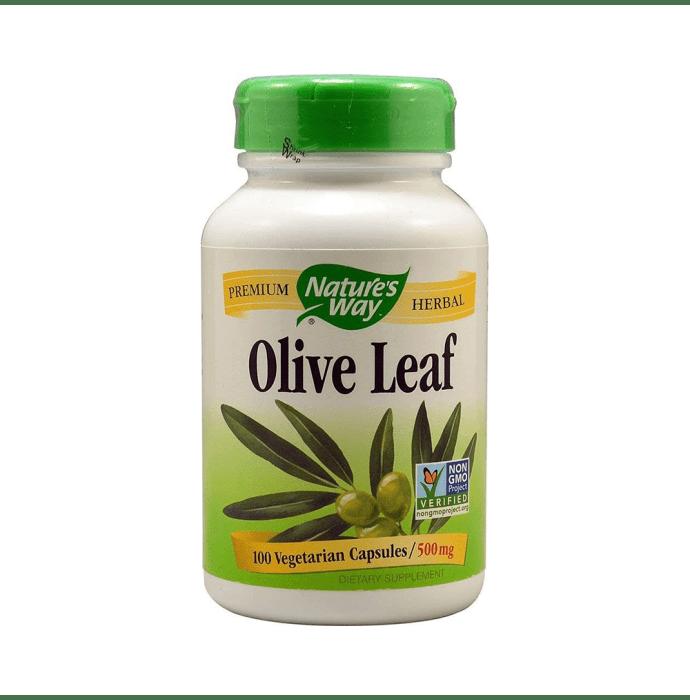 Nature's Way Olive Leaf 500mg Vegetarian Capsule