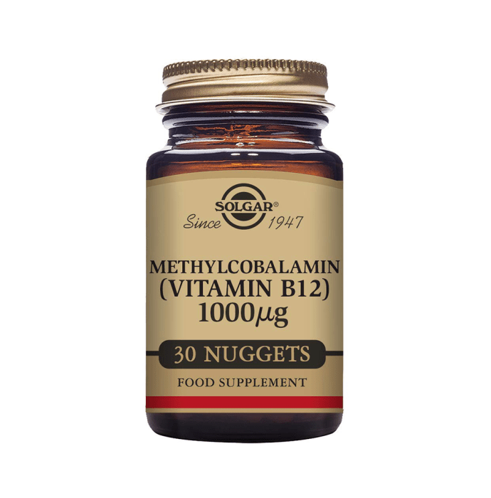 Solgar Methylcobalamin 1000mcg Nuggets