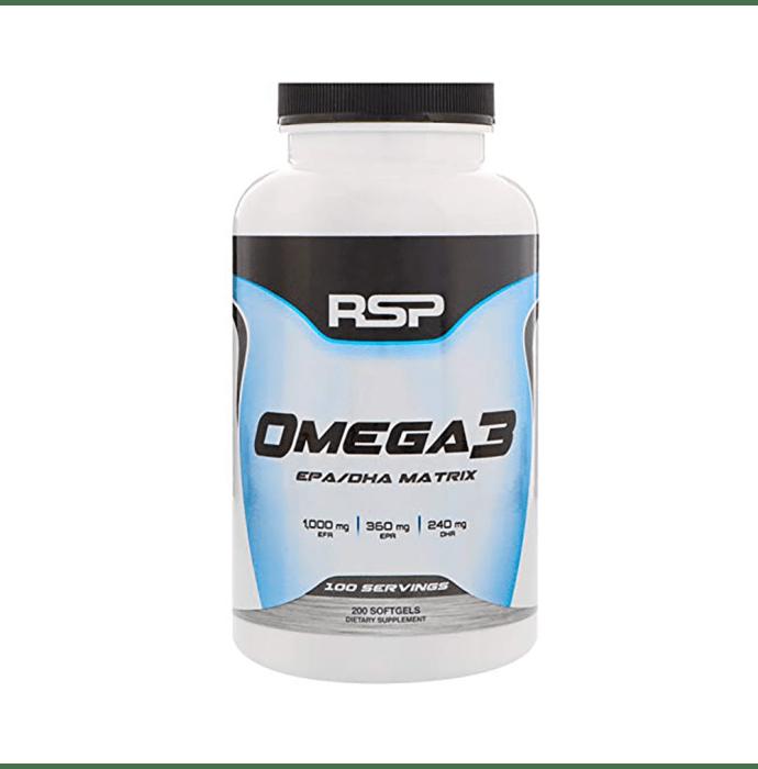RSP Nutrition Omega 3 Softgels