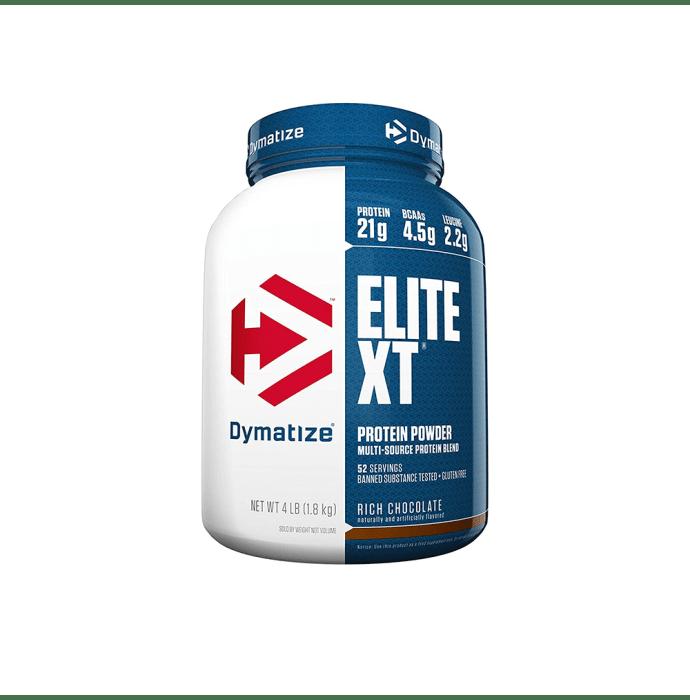 Dymatize Nutrition Elite XT Protein Powder Rich Chocolate