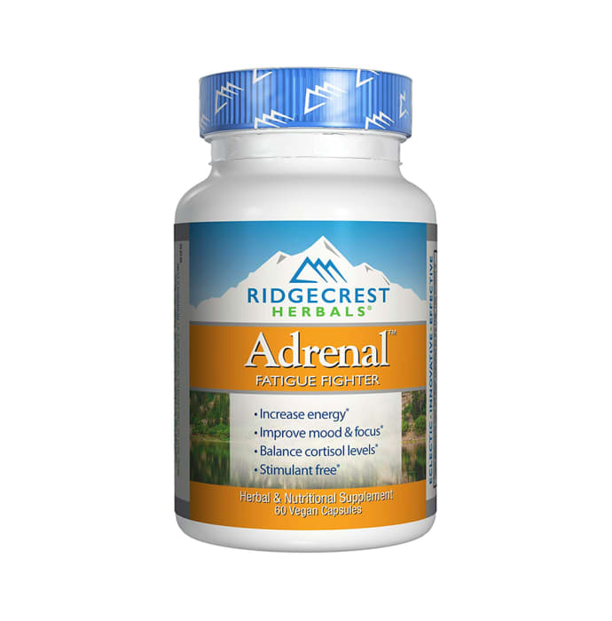 RidgeCrest Herbals Adrenal Fatigue Fighter Vegan Capsule