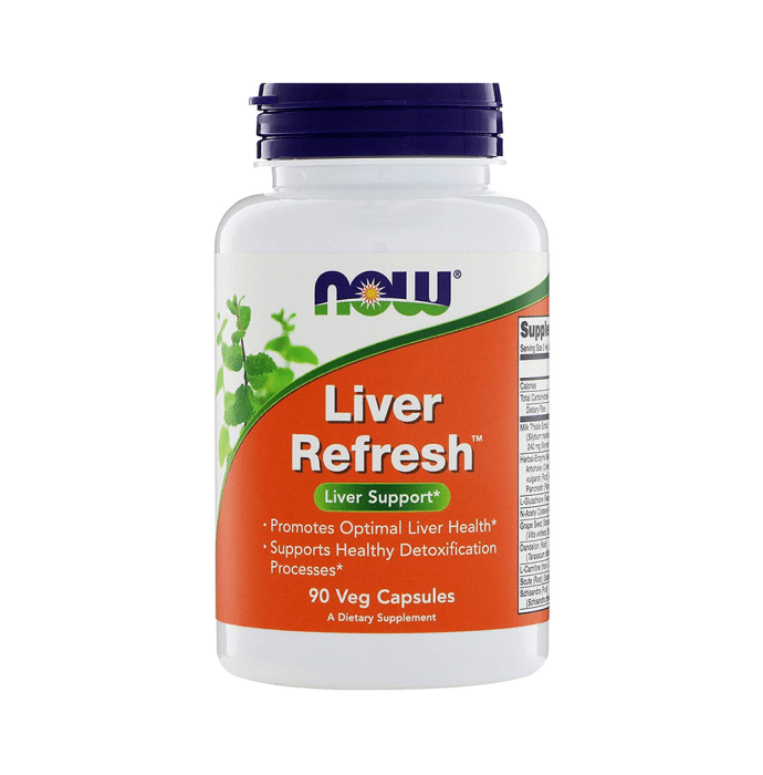 NOW Foods Liver Refresh Veg Capsule