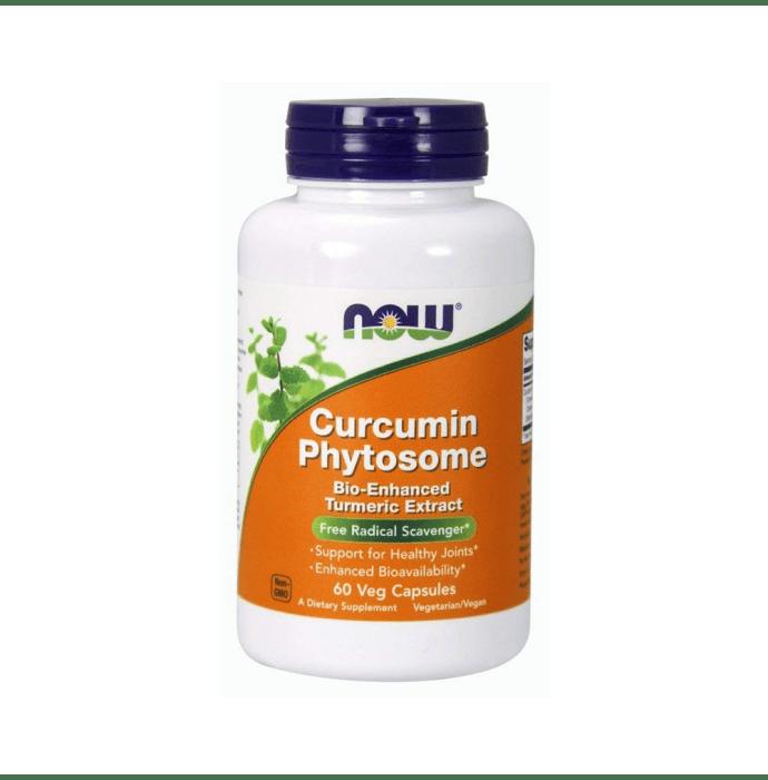 NOW Foods Curcumin Phytosome 500mg Veg Capsule