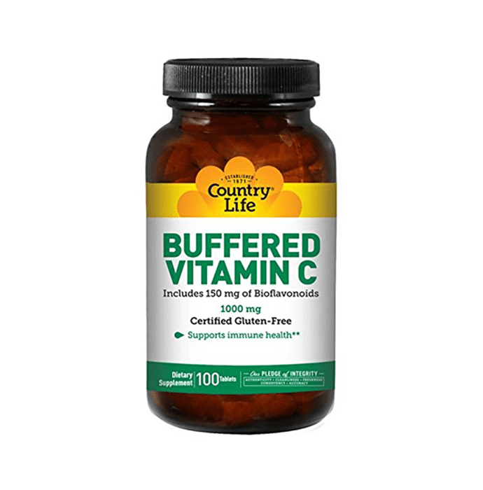 Country Life Buffered Vitamin C 1000mg Tablet