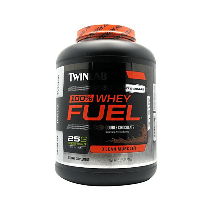 Twinlab 100% Whey Fuel Double  Chocolate