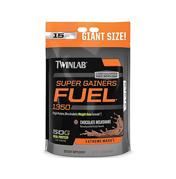 Twinlab Super Gainers Fuel Chocolate Milkshake