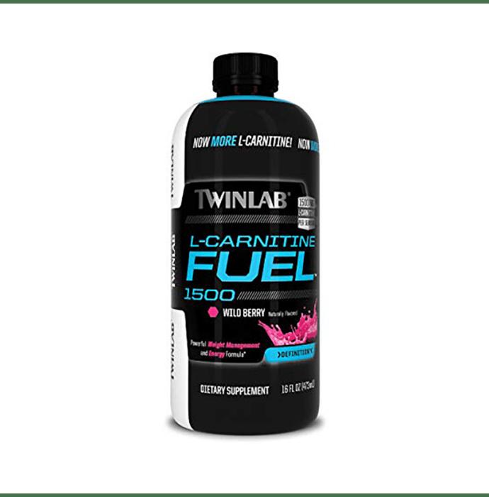 Twinlab L-Carnitine Fuel 1500 Wild Berry