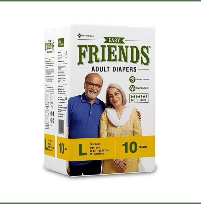 Friends Easy Adult Diaper L