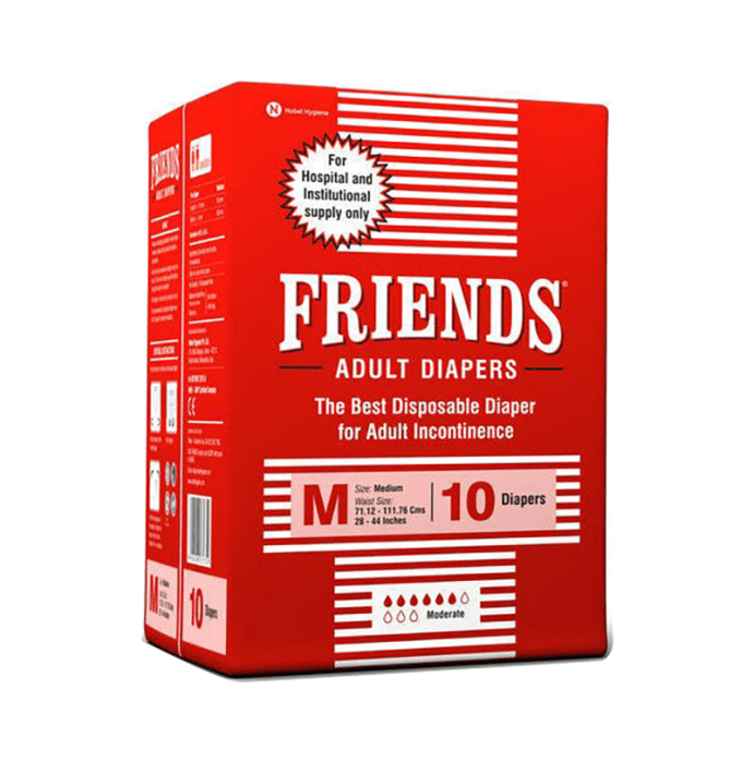 Friends Hospital Adult Diapers M