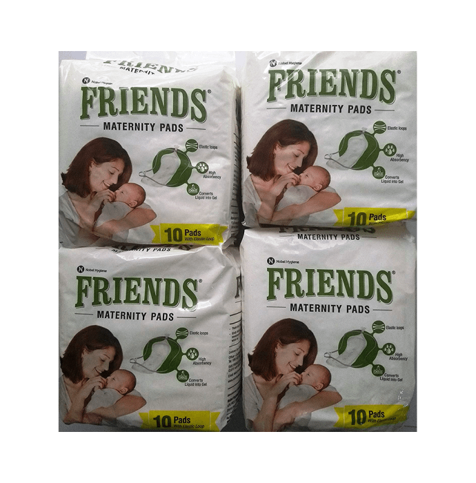Friends Maternity Pads Pack of 4