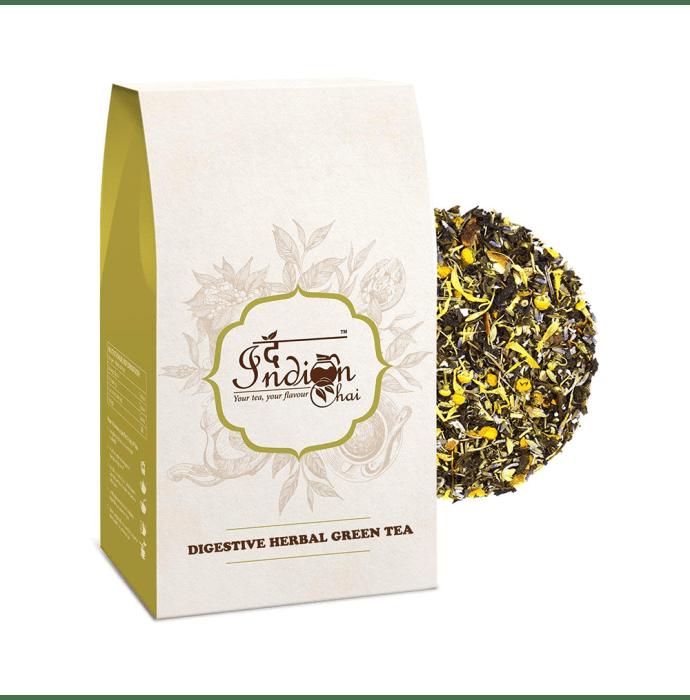 The Indian Chai Digestive Herbal Green Tea
