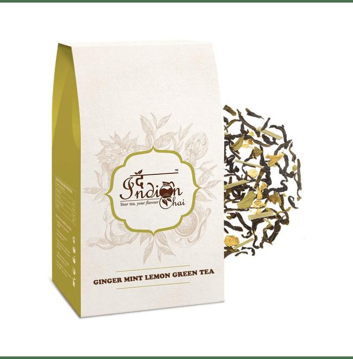 The Indian Chai Ginger Mint Lemon Green Tea