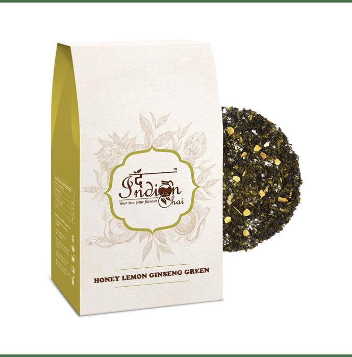 The Indian Chai Honey Lemon Ginseng Green Tea