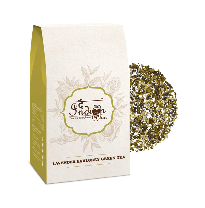 The Indian Chai Lavender Earlgrey Green Tea