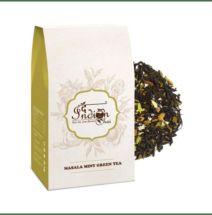The Indian Chai Masala Mint Green Tea