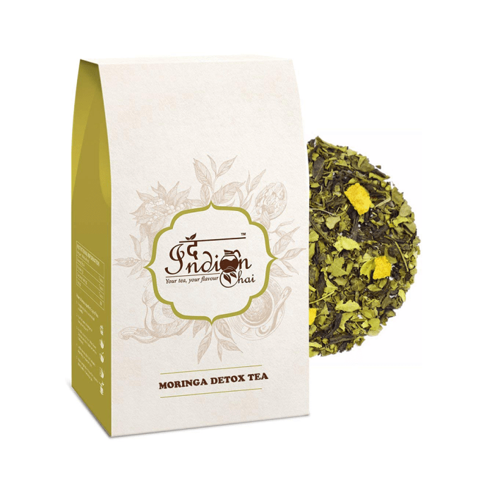The Indian Chai Moringa Detox Tea