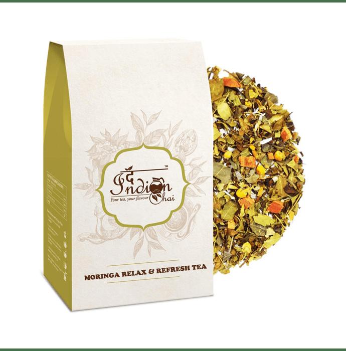 The Indian Chai Moringa Relax & Refresh Tea