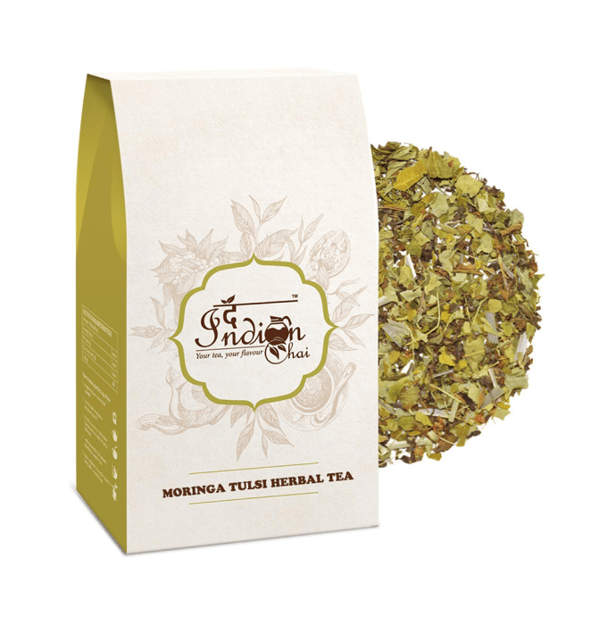 The Indian Chai Moringa Tulsi Herbal Tea