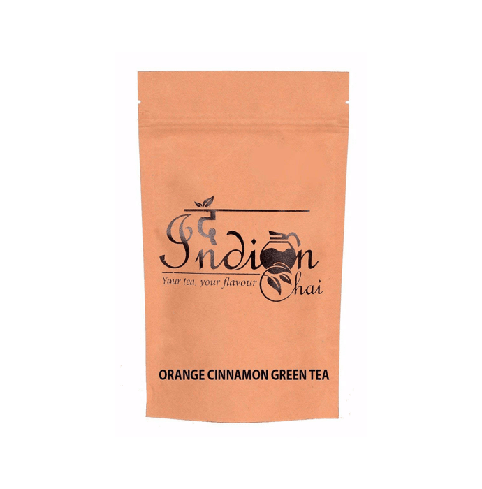 The Indian Chai Orange Cinnamon Green Tea