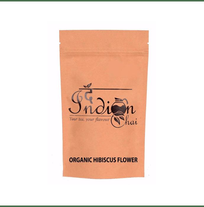 The Indian Chai Organic Hibiscus Flower Herbal Tisane Tea