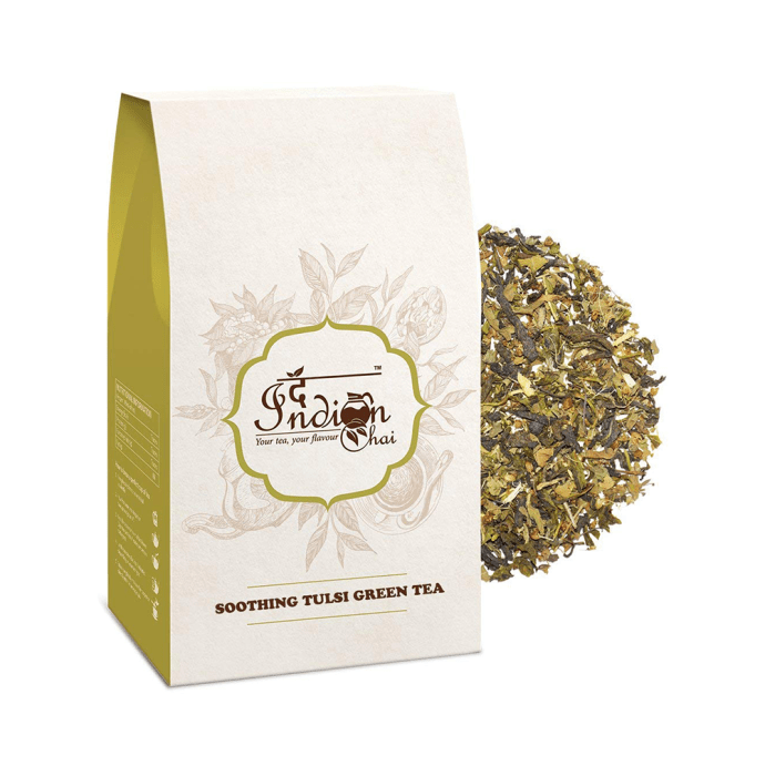 The Indian Chai Soothing Tulsi Green Tea