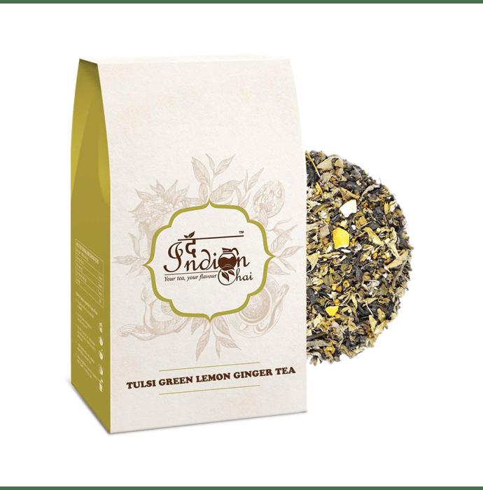 The Indian Chai Tulsi Green Lemon Ginger Tea