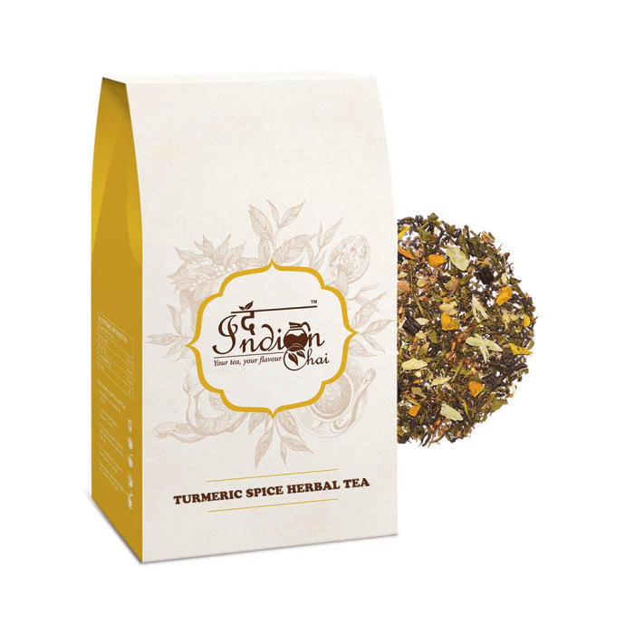 The Indian Chai Turmeric Spice Herbal Tea