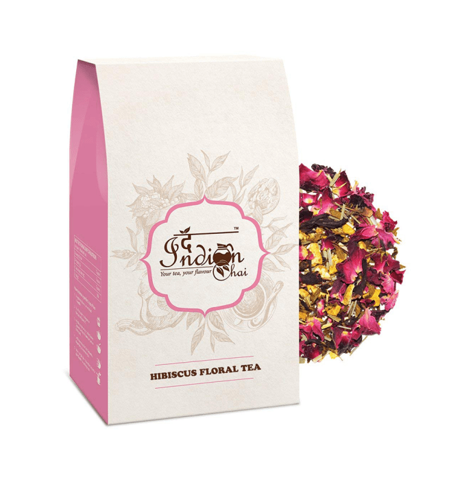 The Indian Chai Hibiscus Floral Tea