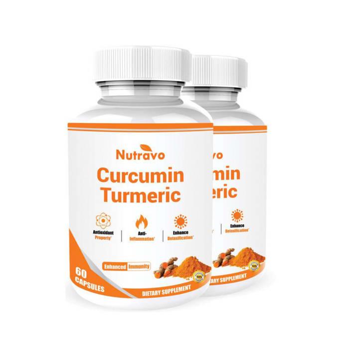 Nutravo Curcumin Turmeric Capsule Pack of 2