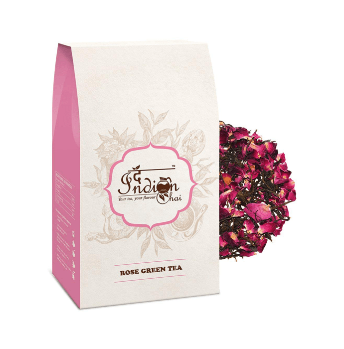 The Indian Chai Rose Green Tea