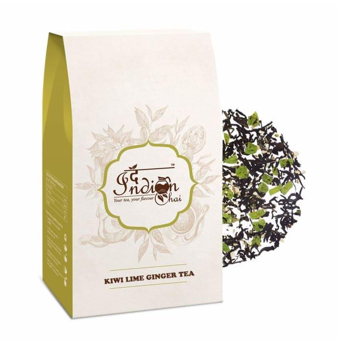 The Indian Chai Kiwi Lime Ginger Tea