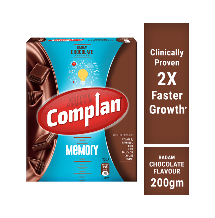 Complan Memory Refill Powder Badam Chocolate