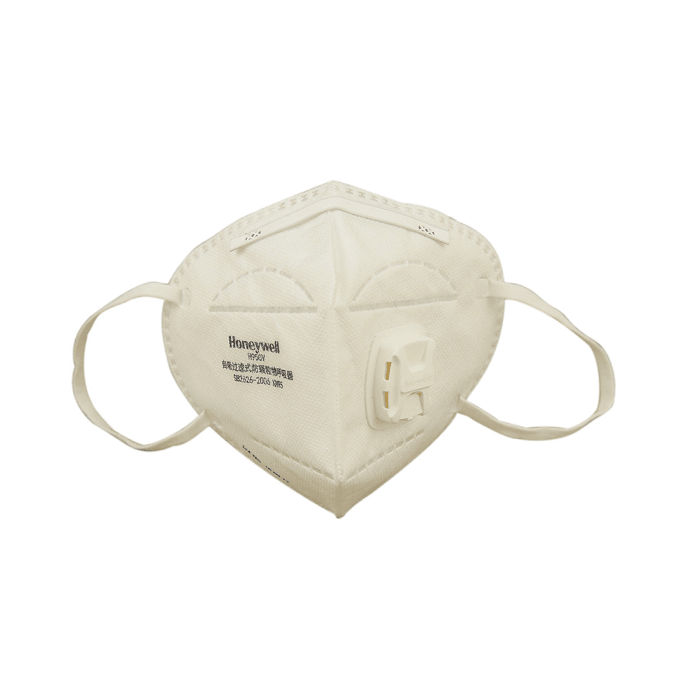 Honeywell ED7051 Anti Pollution Foldable Face Mask with Exhalation Valve White
