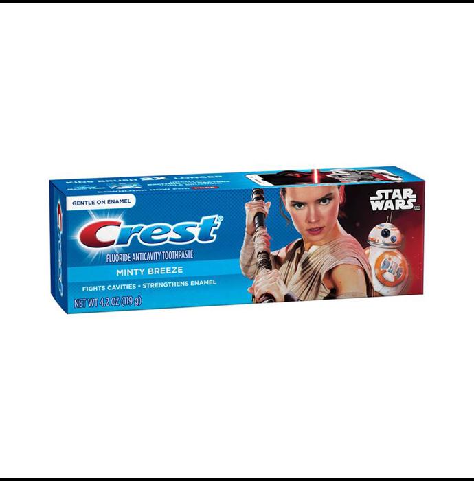 Crest Fluoride Anticavity Toothpaste Minty Breeze