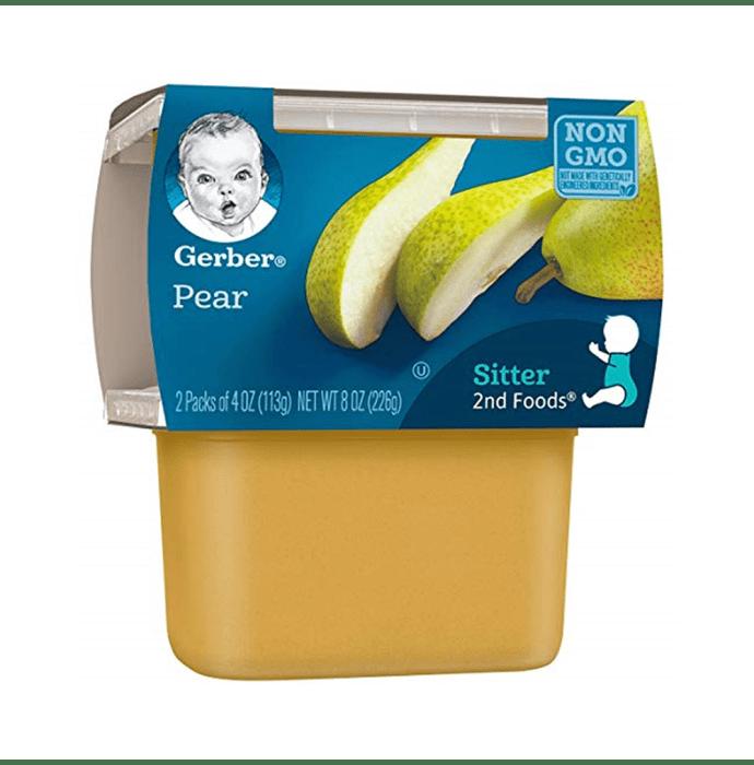 Gerber 2nd Sitter Baby Foods (2 Packs of 113 gm Each) Pear