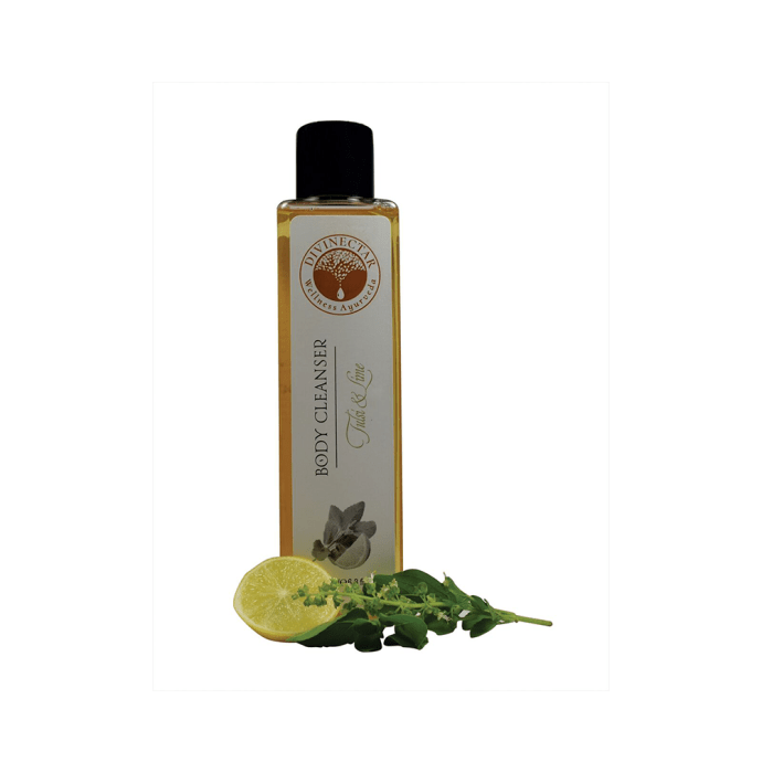 Divinectar Body Cleanser Tulsi and Lime