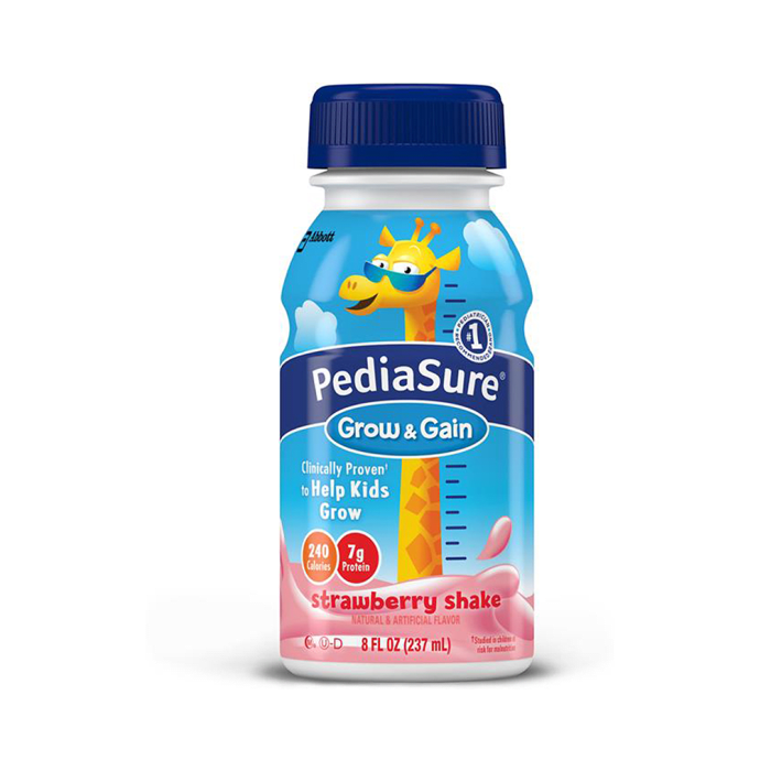 PediaSure Grow & Gain Shake Strawberry