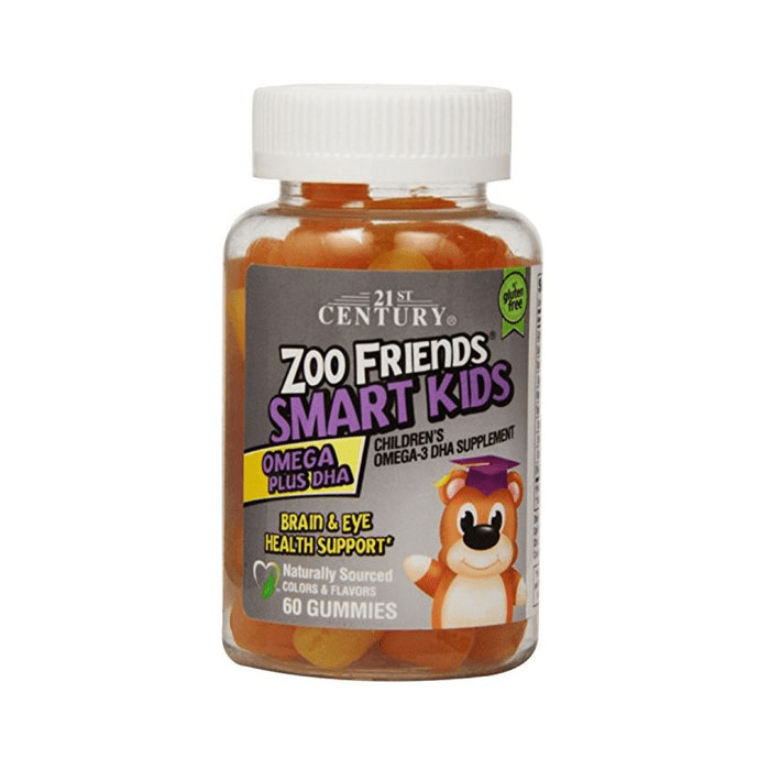 21st Century Zoo Friends Smart Kids Gummies