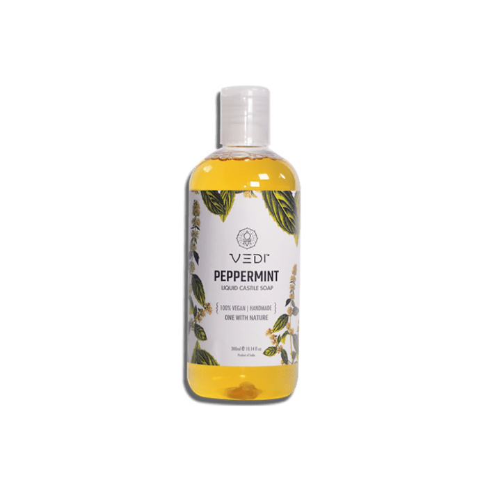 Vedi Liquid Castile Soap Peppermint