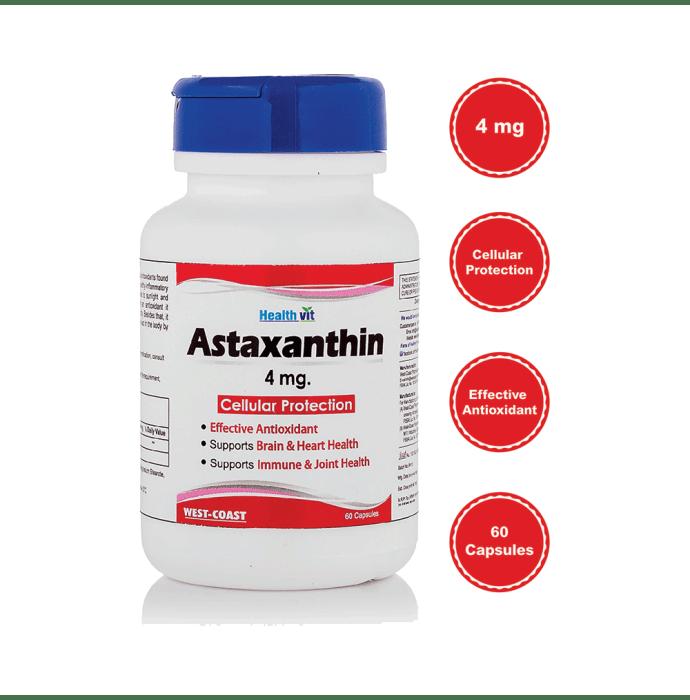HealthVit Astaxanthin 4mg Capsule
