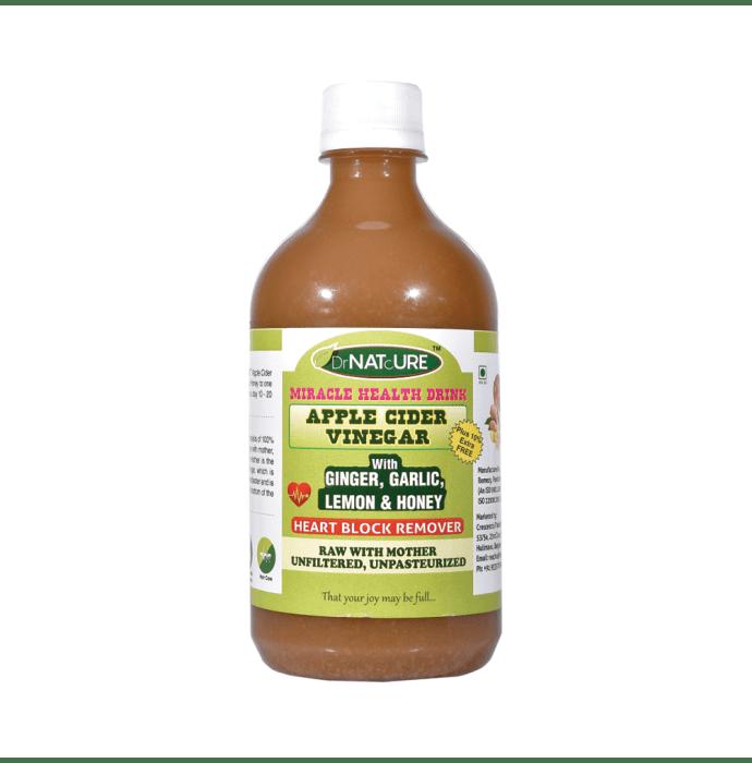 DrNATcURE Apple Cider Vinegar with Ginger Garlic Lemon and Honey