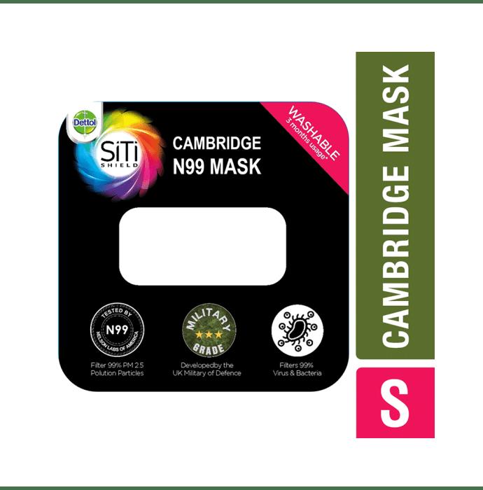 Dettol Cambridge Pro N99 Anti-Pollution Mask S Admiral