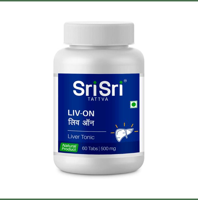 Sri Sri Tattva Liv-ON 500mg Tablet