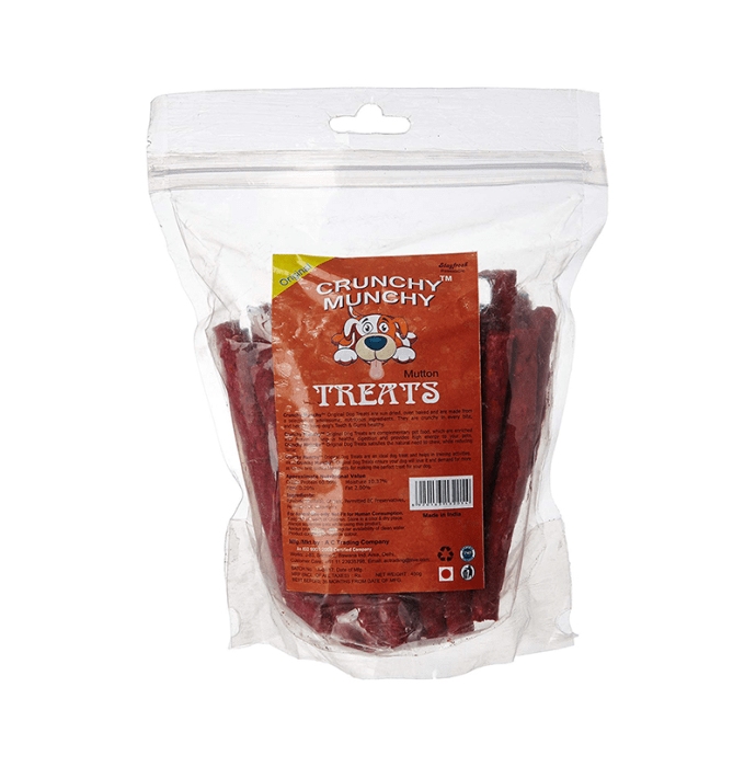 Choostix Crunchy Munchy Treats Mutton Flavour Pack of 2