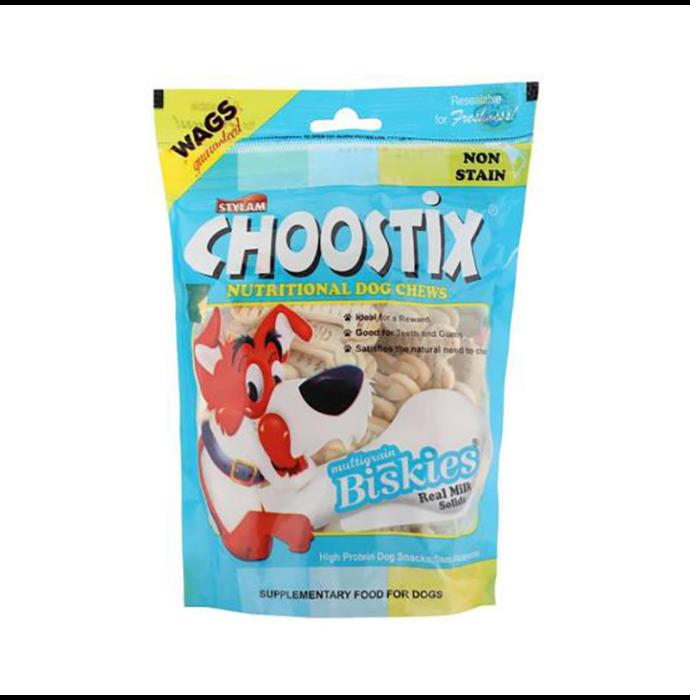 Choostix Biskies Real Milk