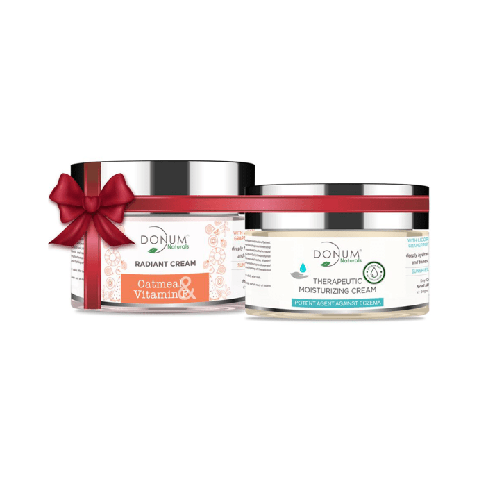 Donum Naturals Combo Pack of Radiant Cream and Therapeutic Cream