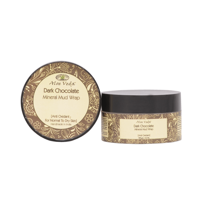 Aloe Veda Mineral Mud Wrap Dark Chocolate