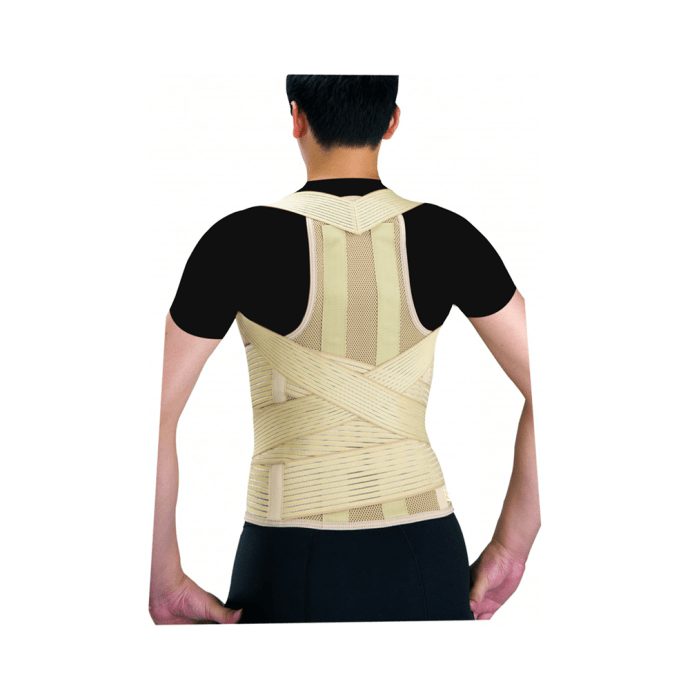 Health Point OH-124 Cervical and Lumbar Support with 2 Strays M