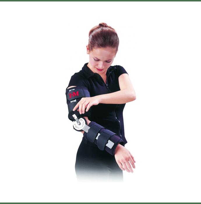 Health Point OH-201 Adj. Hinge Elbow Splint 42cms Free Size