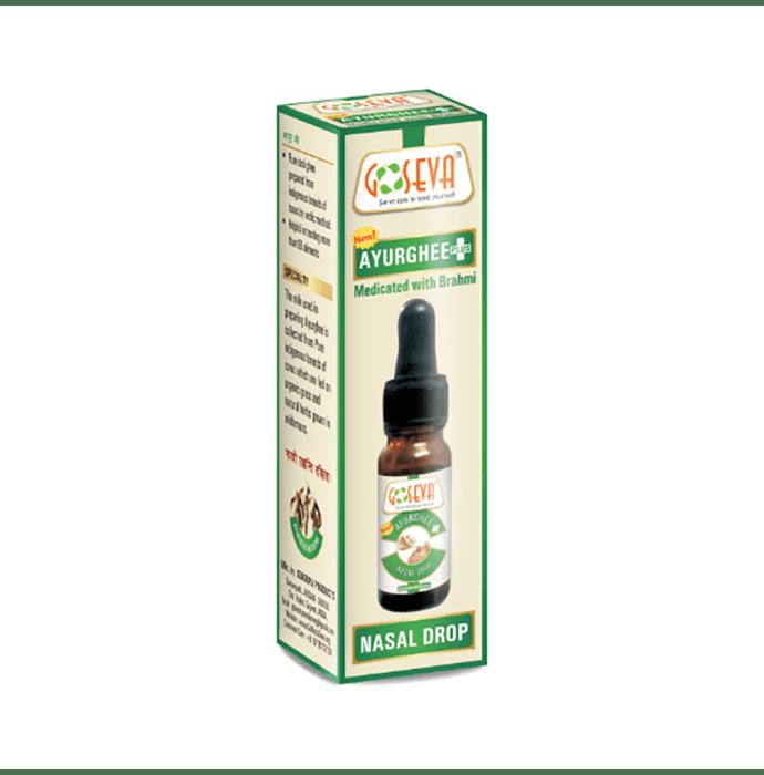 Ayur Ghee Plus Nasal Drops Pack of 2